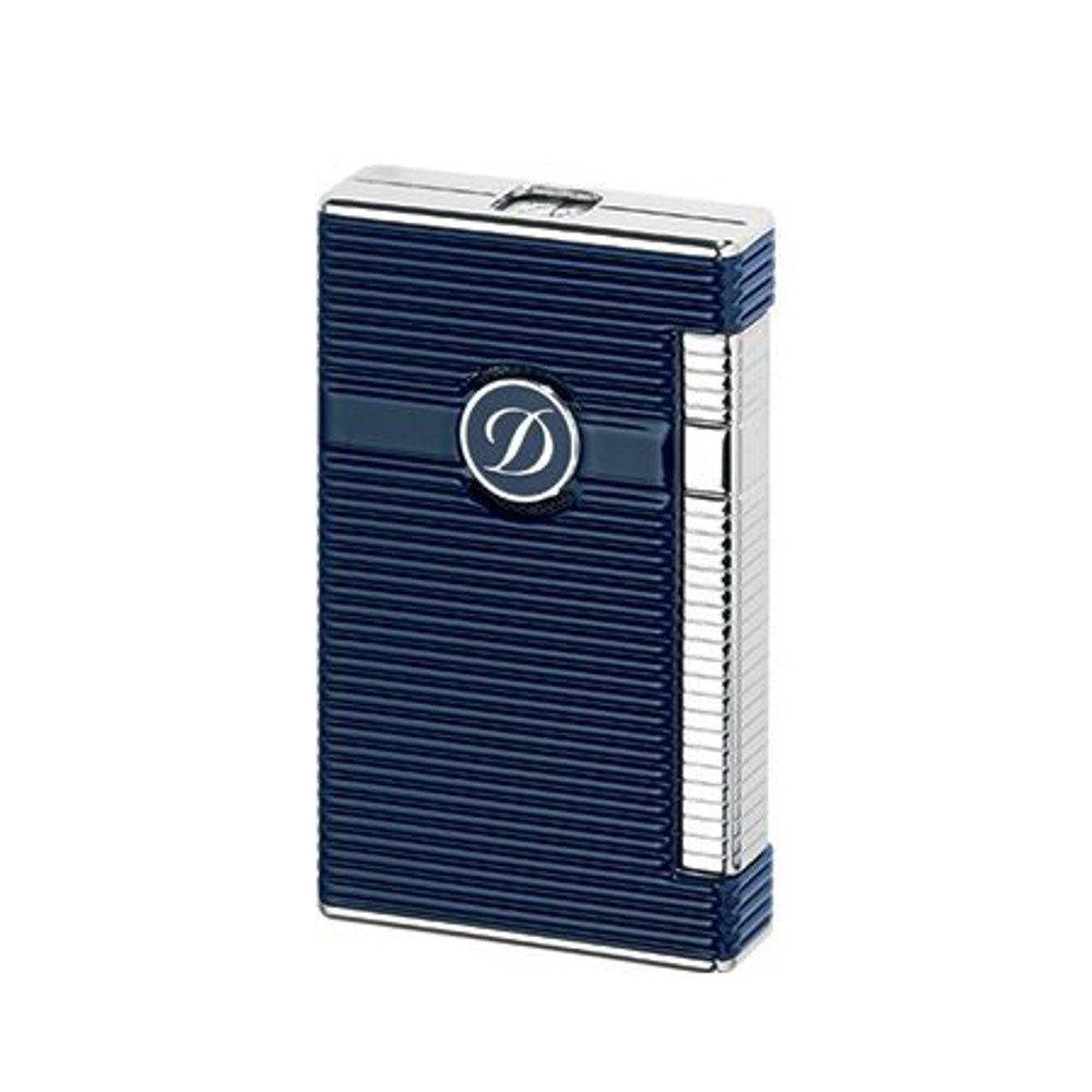 S.T.Dupont (エステーデュポン) ライター LINE2 Torch lighter ブルーラッカー パラディウム 23008 [国内正規品] B01LWPVAAW