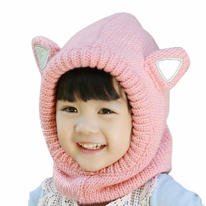 Amazon Aivtalk Baby Girls Ear Pattern Cap Winter Soft Woolen