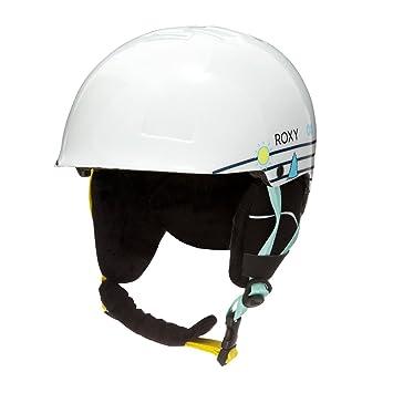 235a7f8e37d Roxy - Casco de Snowboard esquí - Chicas 8-16 - 50 - Blanco  Roxy   Amazon.es  Deportes y aire libre
