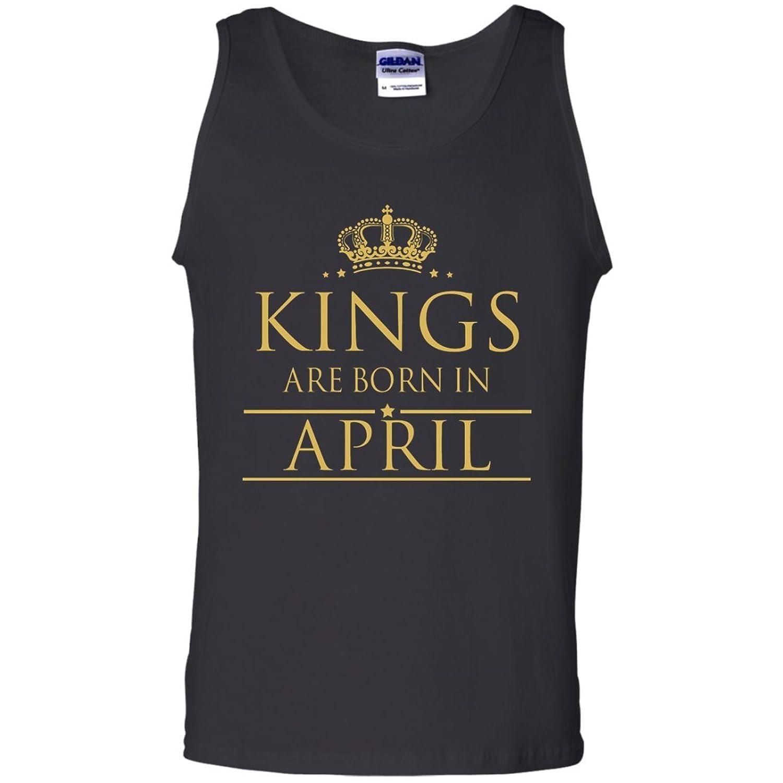 Kings are born in April Tank Top