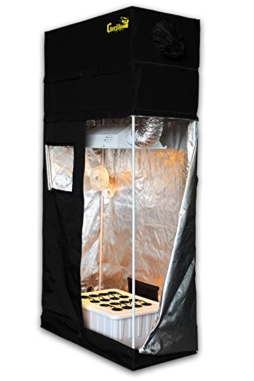 Grow Room 2x4 SuperCloset SuperRoom Hydroponic System Grow Tent Package  sc 1 st  Amazon.com & Amazon.com: Grow Room 2x4 SuperCloset SuperRoom Hydroponic System ...