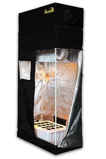 Amazon com: Grow Room 2x4 SuperCloset SuperRoom Hydroponic