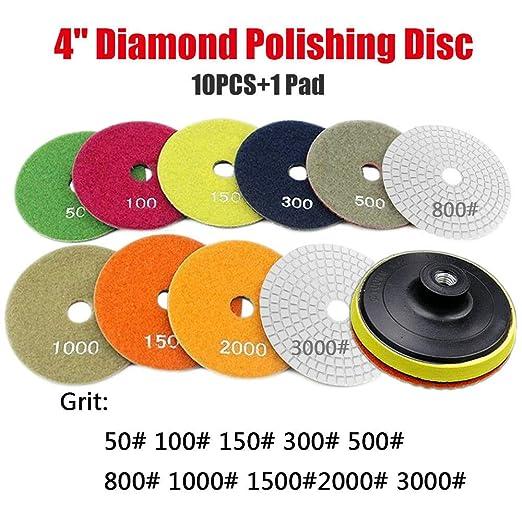 11pcs Disco de diamante, Diamante Pulido Pulido Pads, para ...