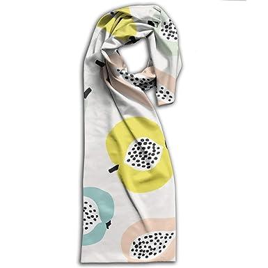 Amazon.com: Bufanda de doble cara de impresión en invierno ...