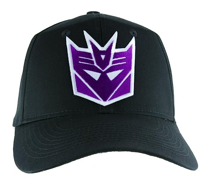 64e10ec71fc66 Image Unavailable. Image not available for. Color  Decepticons Transformers  Hat Baseball Cap Alternative Clothing Megatron