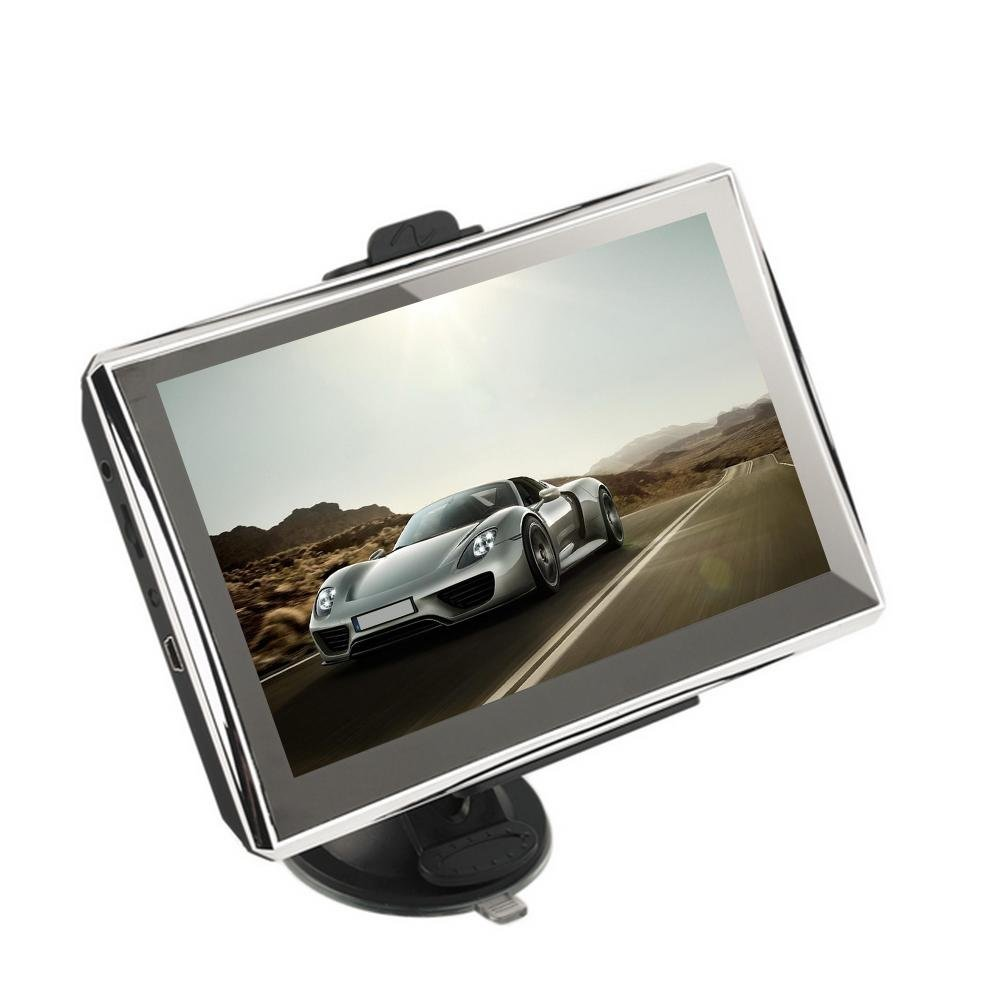 Car GPS Navigator,WinnerEco 7inch Touch Screen 4GB Car Vehicle GPS Navigation System NAV FM w/ NA Maps