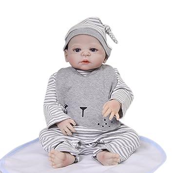 Amazon.es: KEIUMI Muñecas de bebé Recién Nacido DE 23 Pulgadas de ...