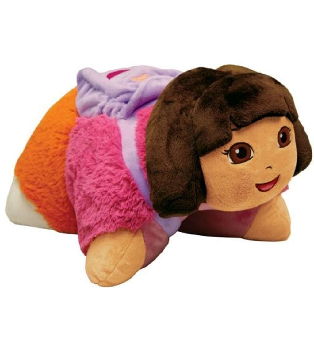 Amazoncom My Pillow Pets Dora The Explorer Licensed 18 Toys