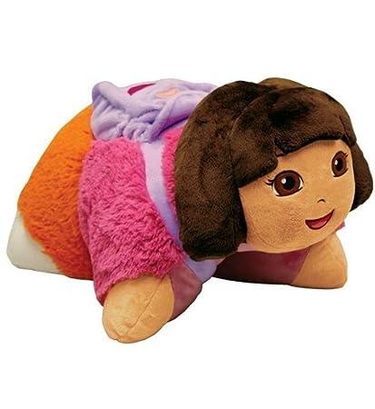Amazoncom My Pillow Pets Dora The Explorer Licensed 18 Toys Games