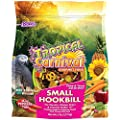 """F.M. Brown's Tropical Carnival Gourmet Bird Food for Parrots, African Greys, and Conures Under 13"""", Probiotics for Digestive Health, Vitamin-Nutrient Fortified Daily Diet by Browns"""
