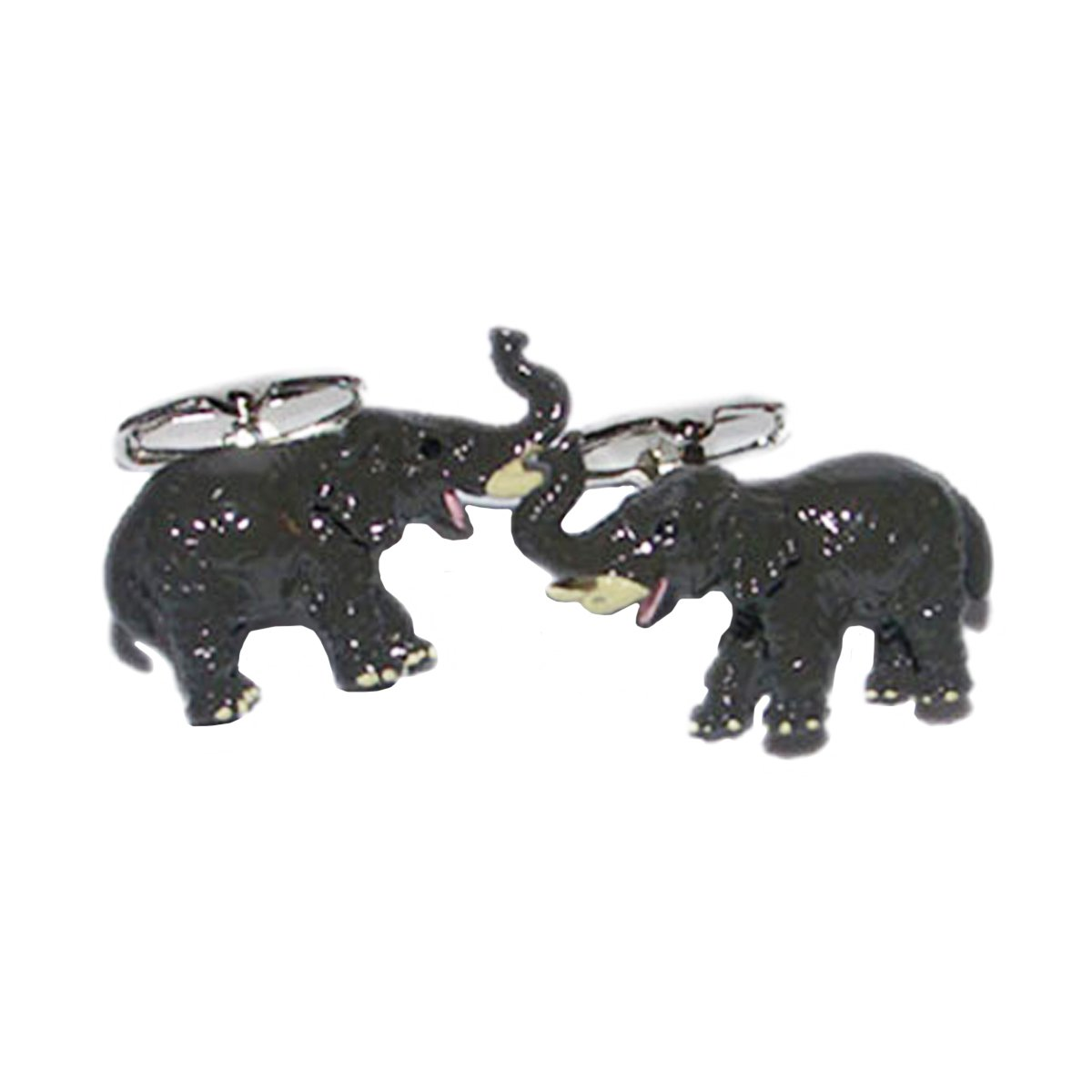 Grey Elephant Cufflinks