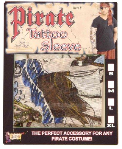 Forum Novelties Pirate Tattoo Sleeve