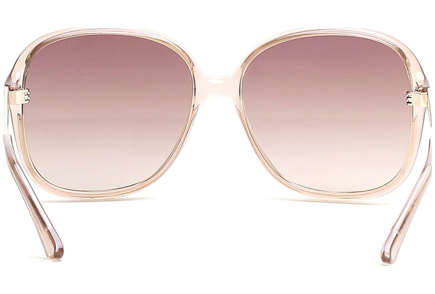 Guess GU7462 57F Pink Transparent GU7462 Butterfly Sunglasses Lens Category  2 S: Amazon.co.uk: Clothing