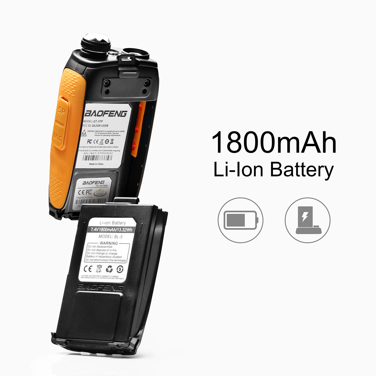 Computer & Office Charitable Baofeng Walkie Talkie Car Charger Uv-5r Uv-5re Uv-82 Gt-3 Portable Car Charger Accessories Car Filling Lines Fast Charging