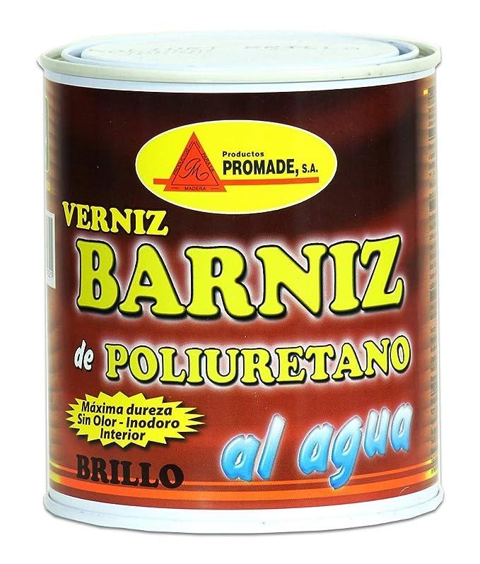 Promade - Barniz Poliuretano Muebles Brillo al agua (750 ml ...