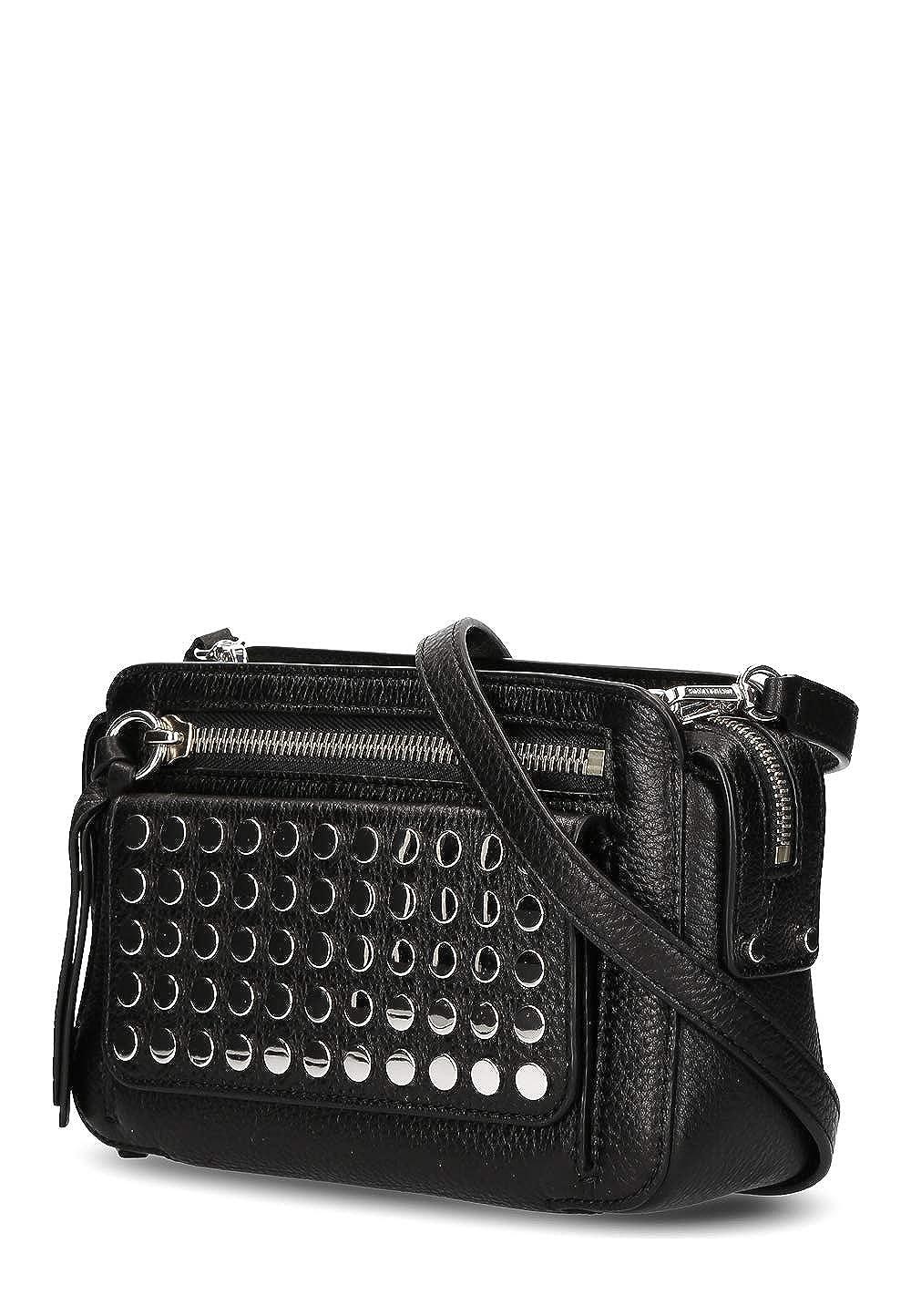 214875414c1 Michael Kors Damen Damen Umhänge Tasche Bag echt Leder Schulter: Amazon.de:  Bekleidung