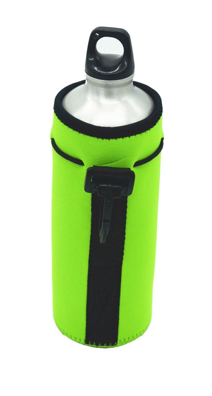 Orchidtent Water Bottle Sleeve Protable Neoprene Insulated Water Bottle Cooler Cooler Carrier Cover Sleeve Tote Bag Pouch Holder Strap for Kid Children Women Men Biker