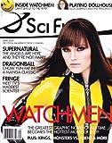 Malin Akerman (Watchmen), Eliza Dushku (Dollhouse), Justin Chatwick (Dragonball: Evolution) - April, 2009 Sci Fi Magazine