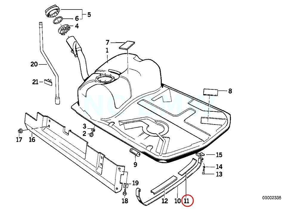 E34 Rear Fuse Box