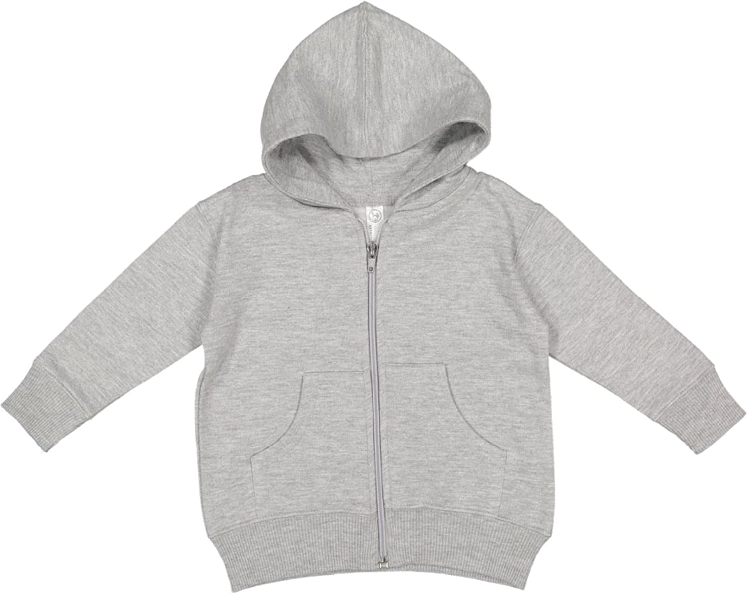 Infant Fleece Hooded Zip Front Sweatshirt with Pocket by Rabbit Skins