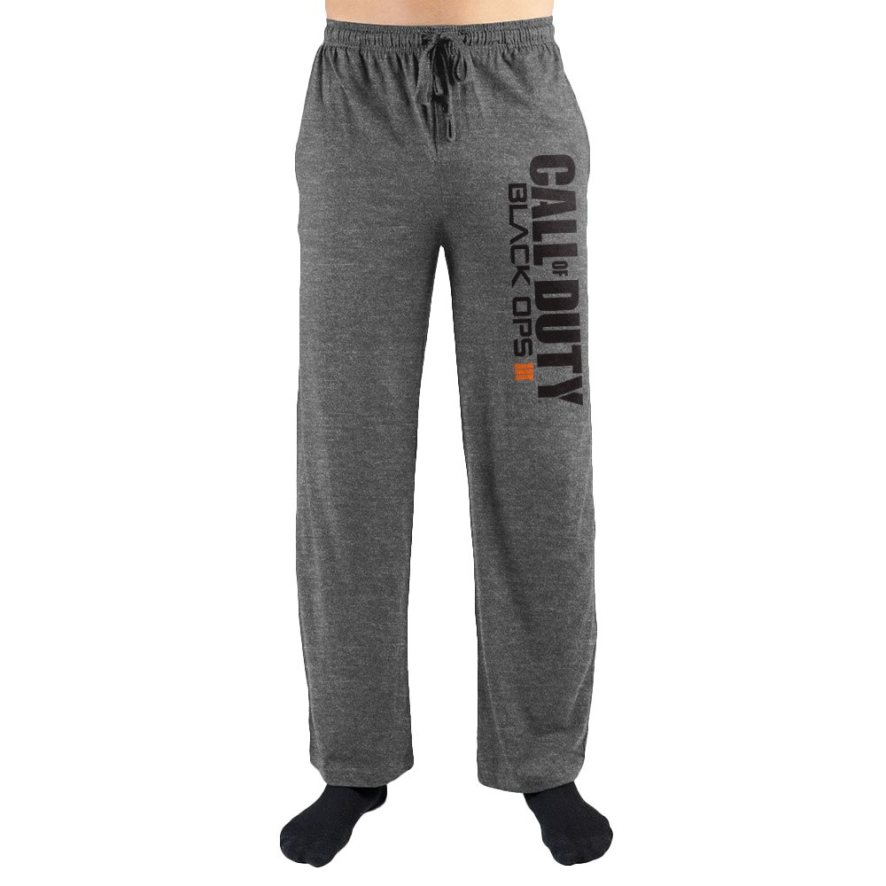COD Call Of Duty BO Black Ops Print Men's Lounge Pants
