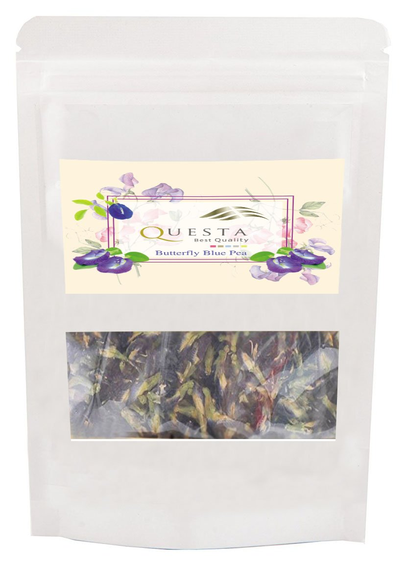 Butterfly Pea Flowers Tea Organic Dried Excellent Tea Origin in Thailand