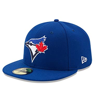 sports shoes 98887 d2495 New Era Toronto Blue Jays Authentic 59FIFTY Fitted MLB Cap Game   Amazon.co.uk  Clothing