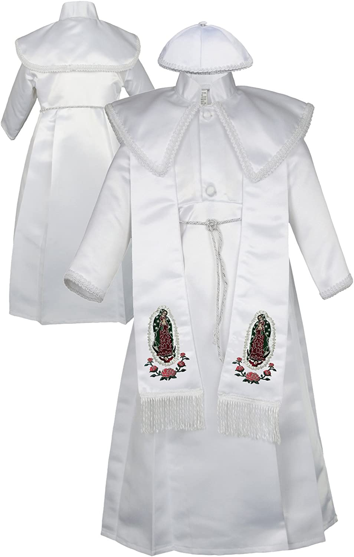 Baby Boy White Christening Smart Outfit Waistcoat Hat Formal w// BODYSHIRT 0-18M