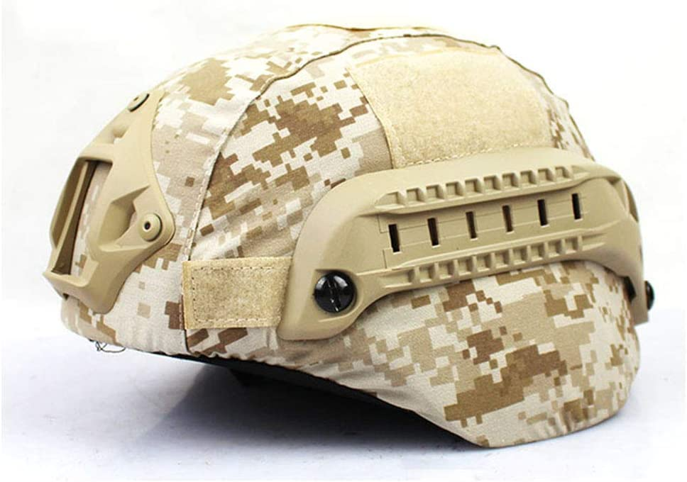 No Helmet Sports de Plein air Airsoft Helmet Accessory WTZWY Tactical Camouflage Mich 2000 Fast Helmet Cover
