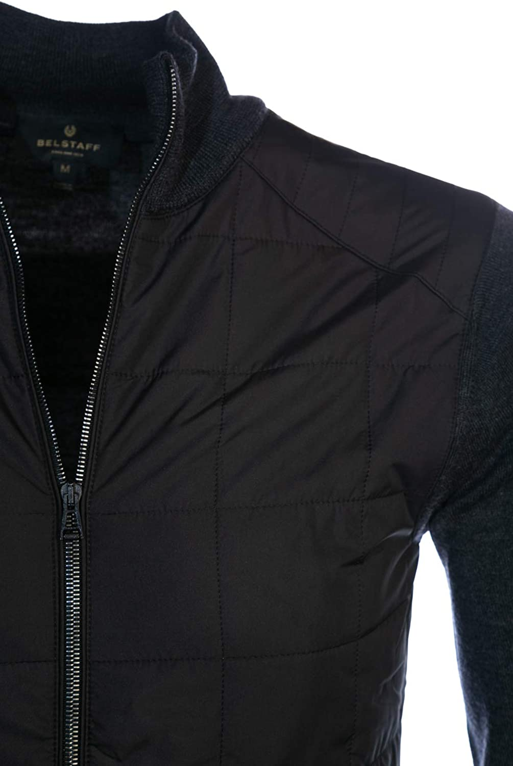 Belstaff New Kelby Zip Cardigan Anthracite