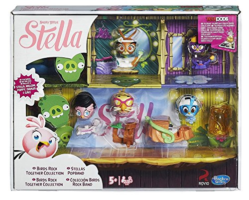 Stella Rocks - Hasbro Angry Birds Stella Telepods Birds Rock Together Collection