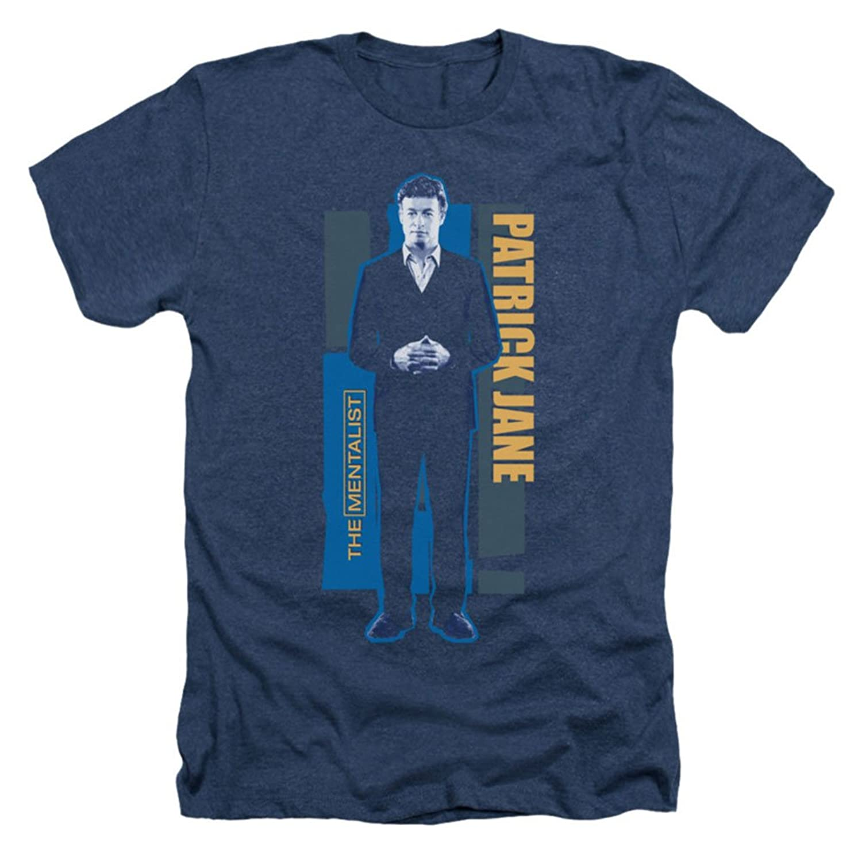 Mentalist - Mens Patrick Jane T-Shirt In Navy