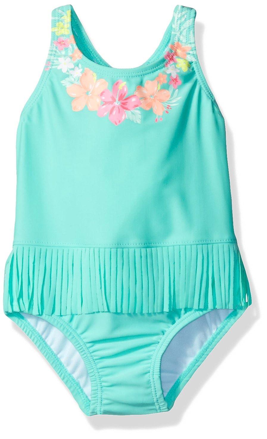 27d6ba81d Amazon.com: Carter's Baby Girls' Hula One Piece Swimsuit, Green, 12 Months:  Clothing
