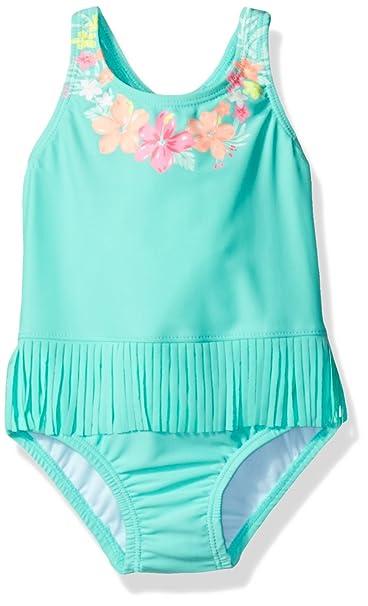 da09accbd9 Amazon.com: Carter's Baby Girls' Hula One Piece Swimsuit, Green, 12 ...