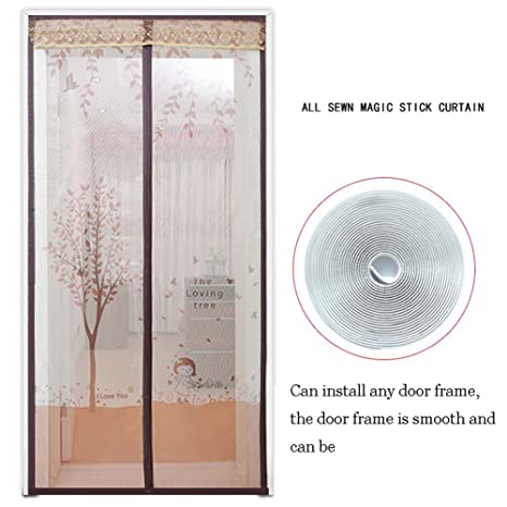 Amazon.com: GAIHU Adjustable Magnetic Screen Door/Mosquito Screen ...