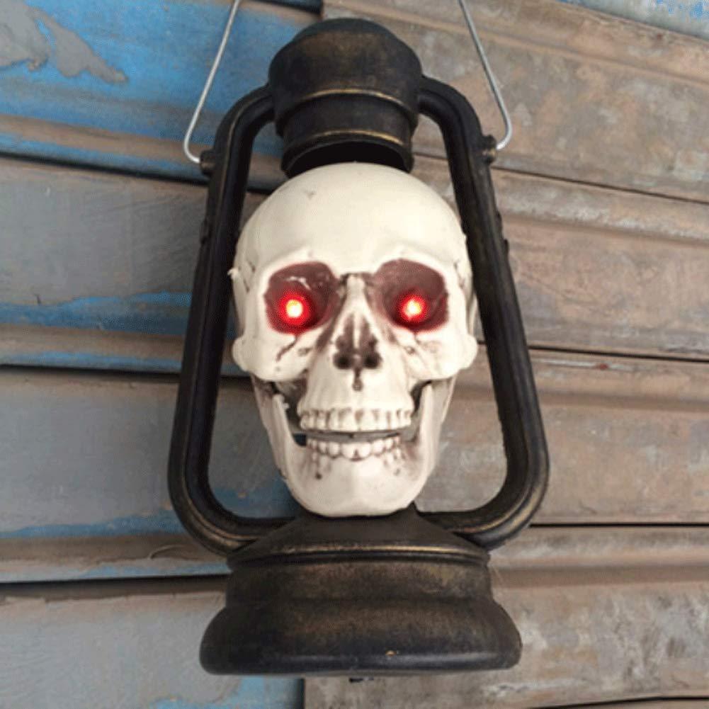 LLU Bar Maison hantée décoration Halloween Horreur mis Bien rangé Les Accessoires Glowing gimmick Portable lumières de Poney