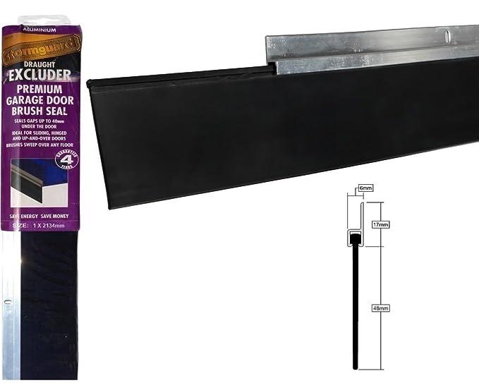 Stormguard 03sr3312134a Garage Door Rubber Draught Excluder Seal
