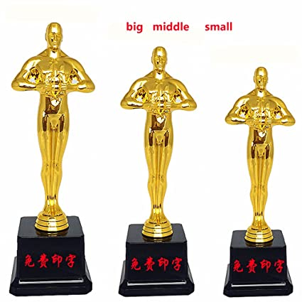 amazon com oscar trophy academy award oscar statue plastic
