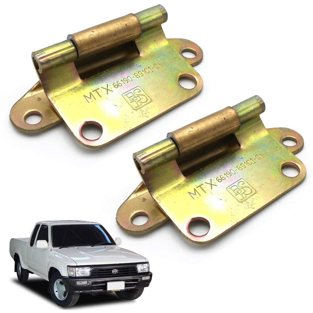 Nonstops Hinge Assy Rear Door Tail Gate 2 Pc Fits Toyota Migthy-X Pickup Sr5 1988 1997 by Nonstops