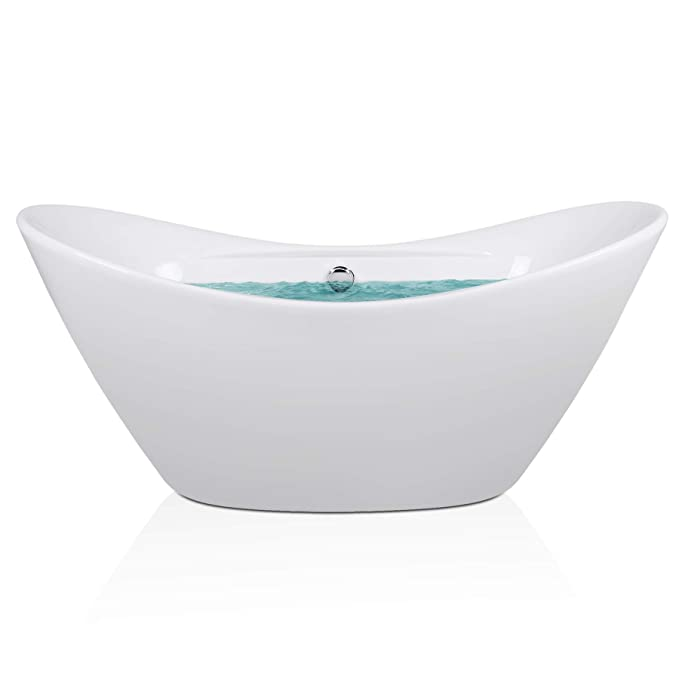 Best Acrylic Bathtub: AKDY F210