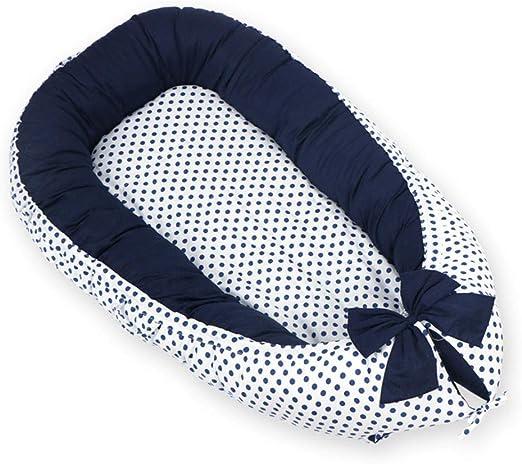 MMLONE Cuna de bebé Dormir Nido de Terciopelo de algodón de ...