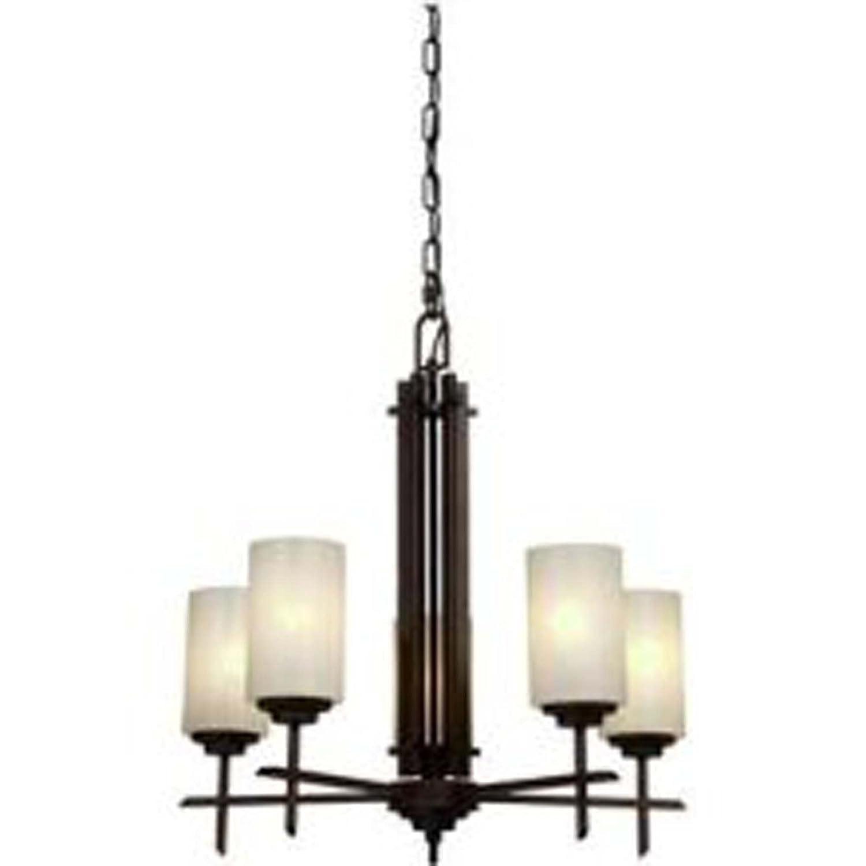 Artcraft lighting ac1495 orlando 5 light chandelier 1 tier oil rubbed bronze chandeliers amazon canada