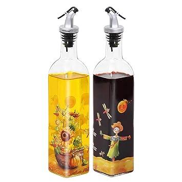 Essig-///Öl-Spender in einem Glasflasche Essig///Öl 70 240 ml