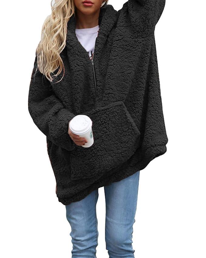 Amazon.com: ABYOXI sudadera con capucha para mujer, sudadera ...