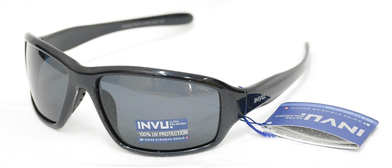 INVU Gafas de Sol polarizadas Bimbo K 2413 a Azul Extensible Lentes 100% UV Block Sunglasses Polarized Elastic: Amazon.es: Deportes y aire libre