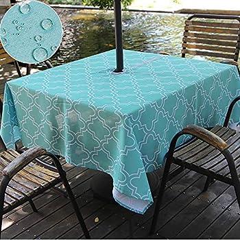 Amazon Com Do4u Waterproof Table Cloth Indoor Outdoor