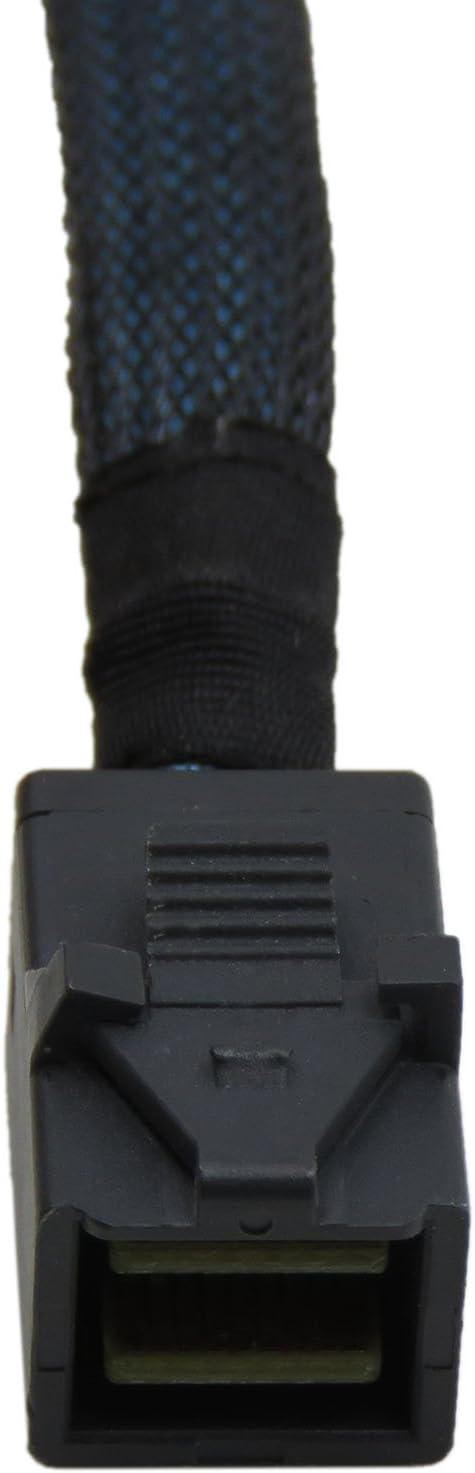 8643 SATA 90 degree 1M Target to 90 degree 4 SATA YIWENTEC Internal HD Mini SAS Hard Drive Cable SFF-8643 Host