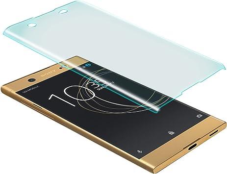 zanasta Protector de Pantalla Sony Xperia XA1 Ultra Vidrio Cristal ...