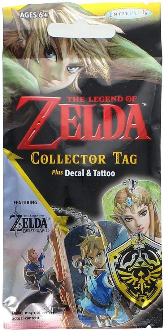 Heo Sobre Sorpresa The Legend of Zelda (Collector Tag, Plus Decal and Tattoo): Amazon.es: Juguetes y juegos
