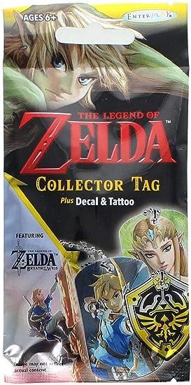 Heo Sobre Sorpresa The Legend of Zelda (Collector Tag, Plus Decal and Tattoo): Amazon.es: Juguetes y juegos